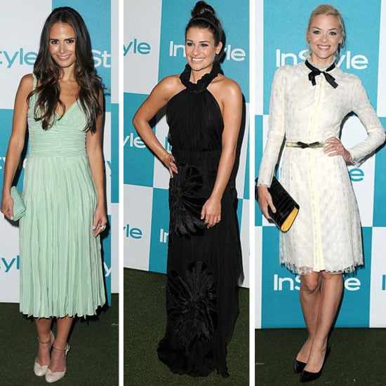 Diane Kruger, Lea Michelle, Olivia Munn, Jaime King and other Celebrities at InStyle Summer Party 2011