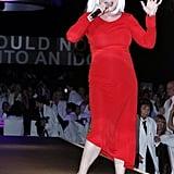 Debbie Harry performed at the 2011 MOCA Gala.