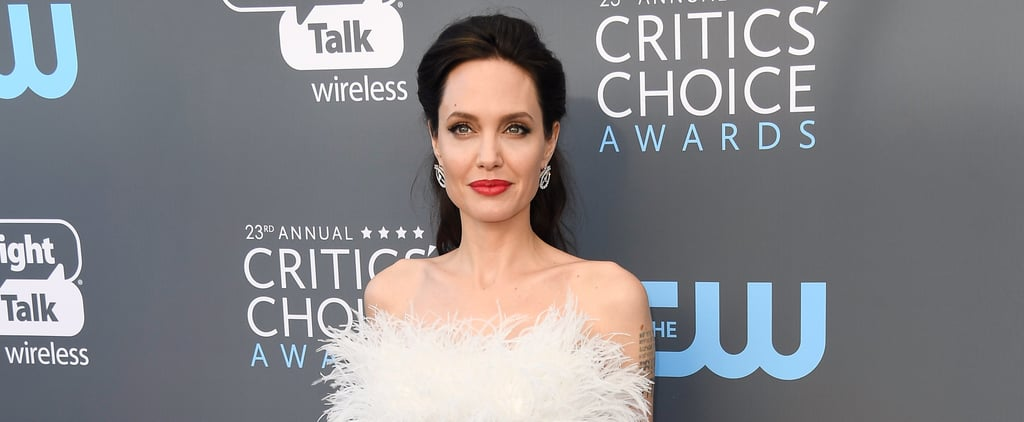 Angelina Jolie's Critics' Choice Dress Isn't What You Were Expecting
