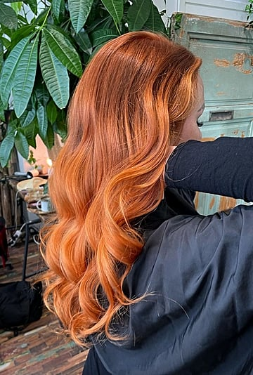 """""""Tiger Daylily"""" Hair Color Trend"""