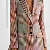 Rosie Assoulin Houndstooth Woven Blazer