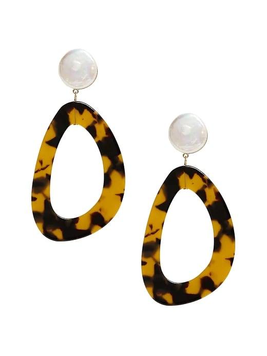 Freshwater Pearl Statement Earrings