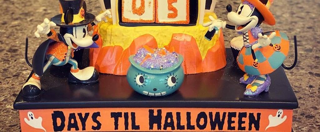 Mickey and Minnie Haunted House Halloween Countdown Calendar