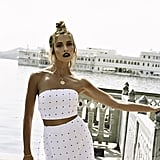 Mira Speck Skirt ($128)    Mira Speck Top ($68)