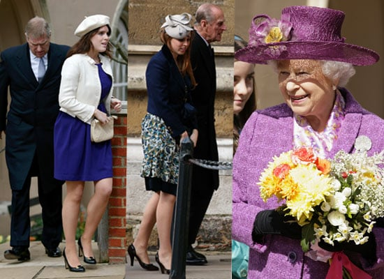Photos of Royals at Easter