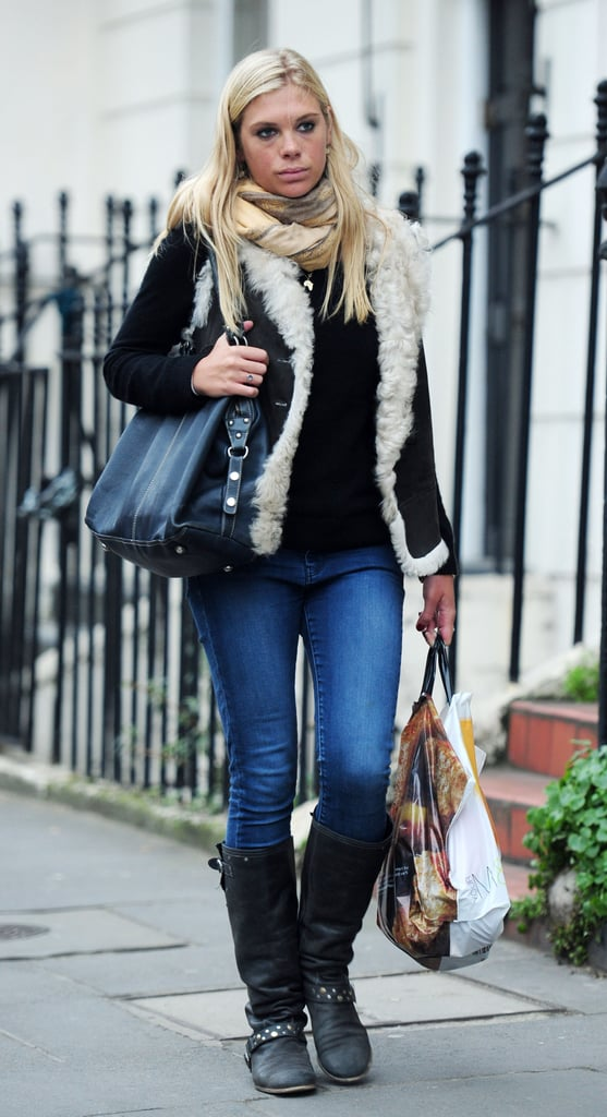 Chelsy Davy arrived at Heathrow Airport on Friday and wasted no time in hitting the shops on the Kings Road. She's been partying in South Africa during her six month trip, but is now back on Prince Harry's turf. The former couple reportedly met up over the weekend and were apparently keen not to be spotted together. Harry has also allegedly invited Chelsy to Prince William and Kate Middleton's wedding, sparking rumours they're rekindling their romance.