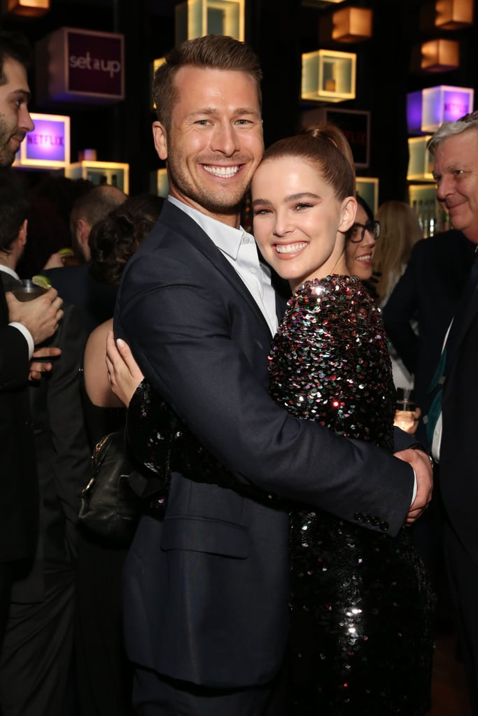 There are plenty of reasons people can't get enough of Netflix's new rom-com, Set It Up, and the chemistry between stars Glen Powell and Zoey Deutch is definitely one of them. Viewers are truly giddy about the new movie, which is adorable and delightful and, yeah, I may have watched it twice within a few days, OK? Glen and Zoey are as charming as it gets, and (fun fact!) this actually isn't the first time they've been in a film together. Both actors appeared in 2016's Everybody Wants Some!!, and even better, they may get to share the screen a third time if a Set It Up sequel becomes a reality. Fingers crossed, right? Check out some of the best pictures of the friends hanging out together, then plan your next movie night with a look at the best romantic comedies on Netflix.      Related:                                                                                                           Netflix Has a TON of Rom-Coms Available to Stream — Here's Which One You Should Watch