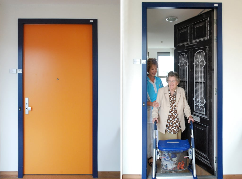 "For those with dementia, moving into an assisted living facility can be incredibly overwhelming and frightening, but one Dutch company is on a mission to ease this change for elderly patients. True Doors creates personalized stickers to help those with dementia recognize their rooms in a facility where all the rooms look the same.  The company used photos of the patients' previous homes to create identical front doors of the homes they lived in their whole lives. At a facility in South Holland, the company gifted 22 patients with door stickers; 17 chose from the company's collection and five had stickers personalized. ""The well-being service is especially useful for people with dementia, as these custom true doors stimulate memory and help with orientation, making it easier for people to find their rooms in new environments such as care homes,"" the site reads. These awesome stickers are available for purchase and the perfect decorating tactic for any entryway. Keep reading to see some of the transformed assisted living patients' rooms and find out how to get yours.      Related:                                                                                                           9 Wise Homemaking Lessons I Learned From Grandma"