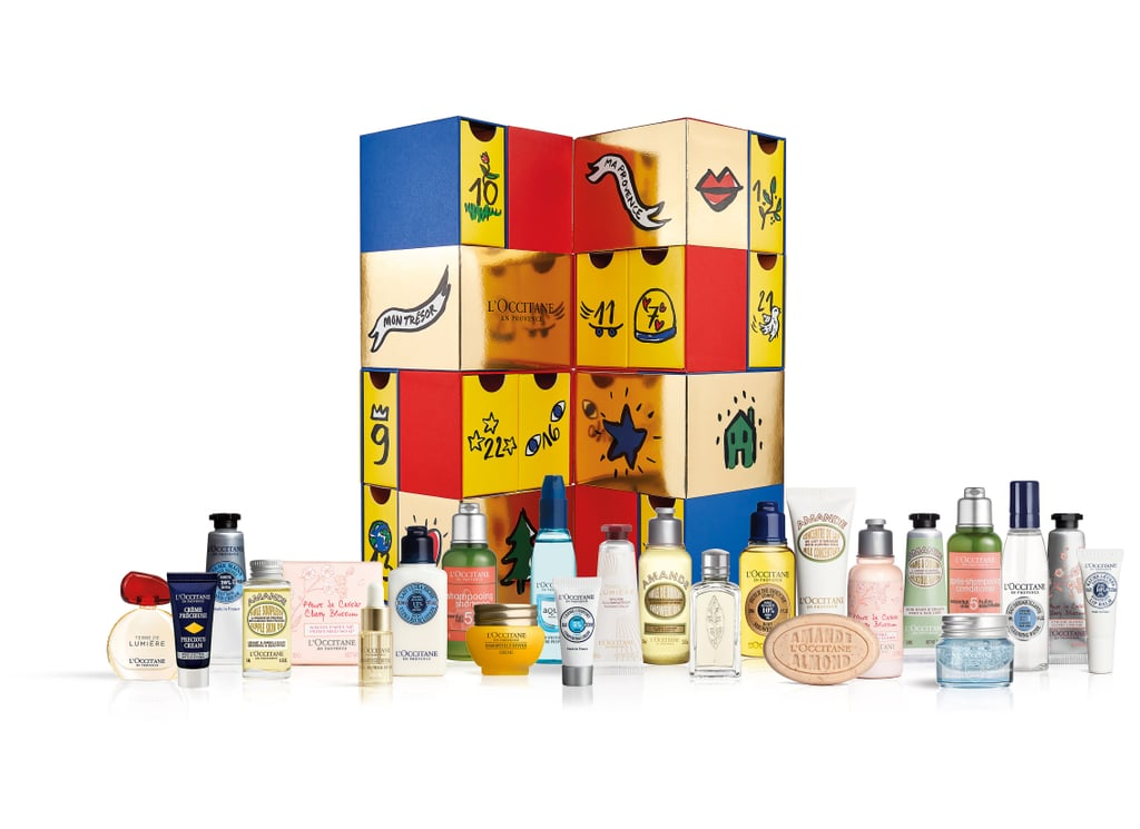 l 39 occitane best beauty advent calendars 2018 popsugar. Black Bedroom Furniture Sets. Home Design Ideas