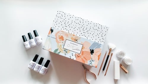 Complete Kit from Dip'd Nail Powders