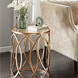 Madison Park Amir Metal Eyelet Accent Table