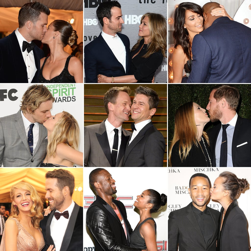 Celebrity PDA Photos - Famous People Kissing