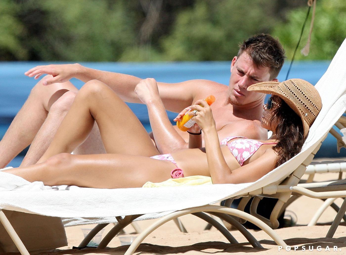 Channing Tatum and Jenna Dewan Tatum
