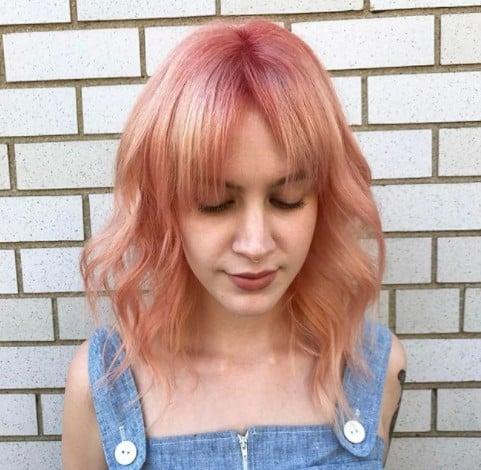 Curtain Bangs Inspiration On Pinterest Fall 2017 Popsugar Beauty