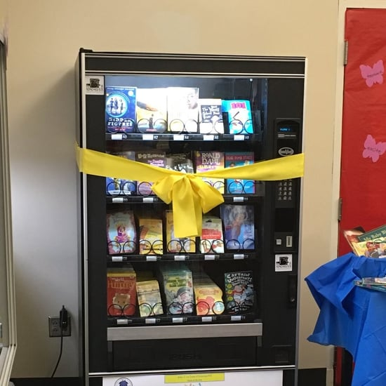 New York School Installs Book Vending Machine