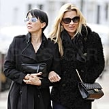 Kate Moss Keeps the Birthday Celebrations Going With Sadie Frost
