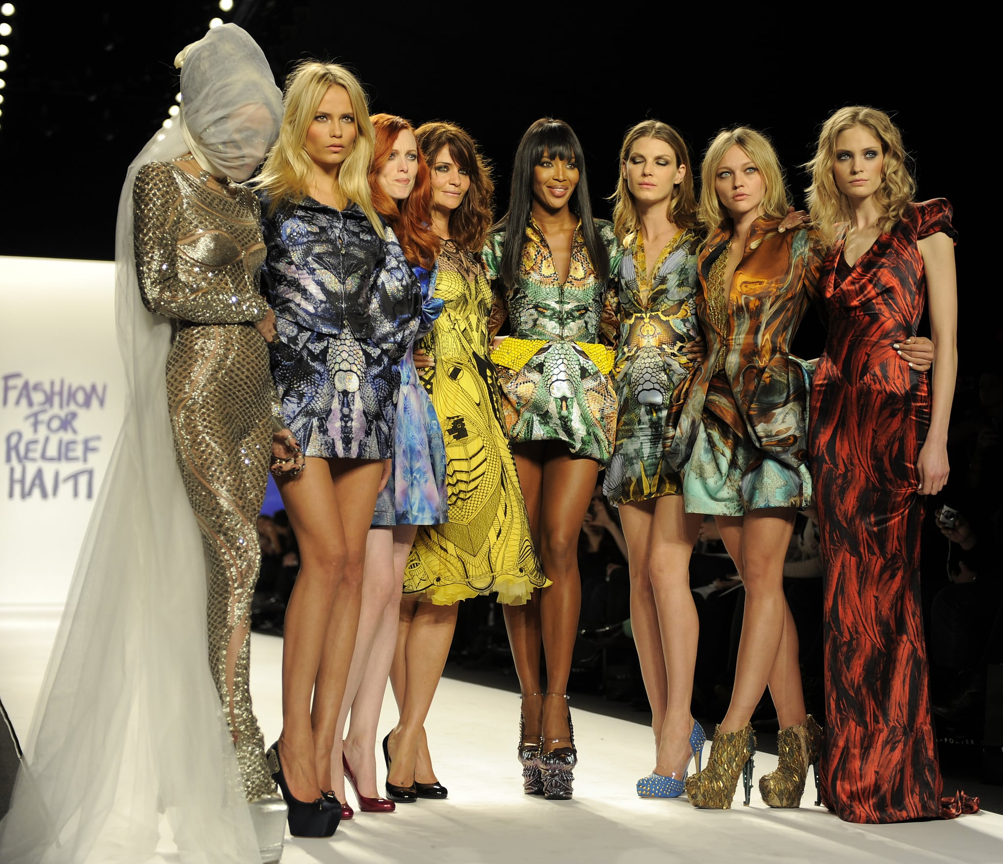 Photos from naomi campbell 39 s fashion for haiti relief new for When is fashion week over