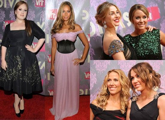 Photos of Adele, Leona Lewis, Lauren Conrad, Whitney Port, Miley Cyrus, Paula Abdul, Jennifer Hudson at VH1 Divas Live