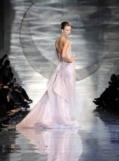 Giorgio Armani Takes His Spring 2010 Couture to a Celestial Place