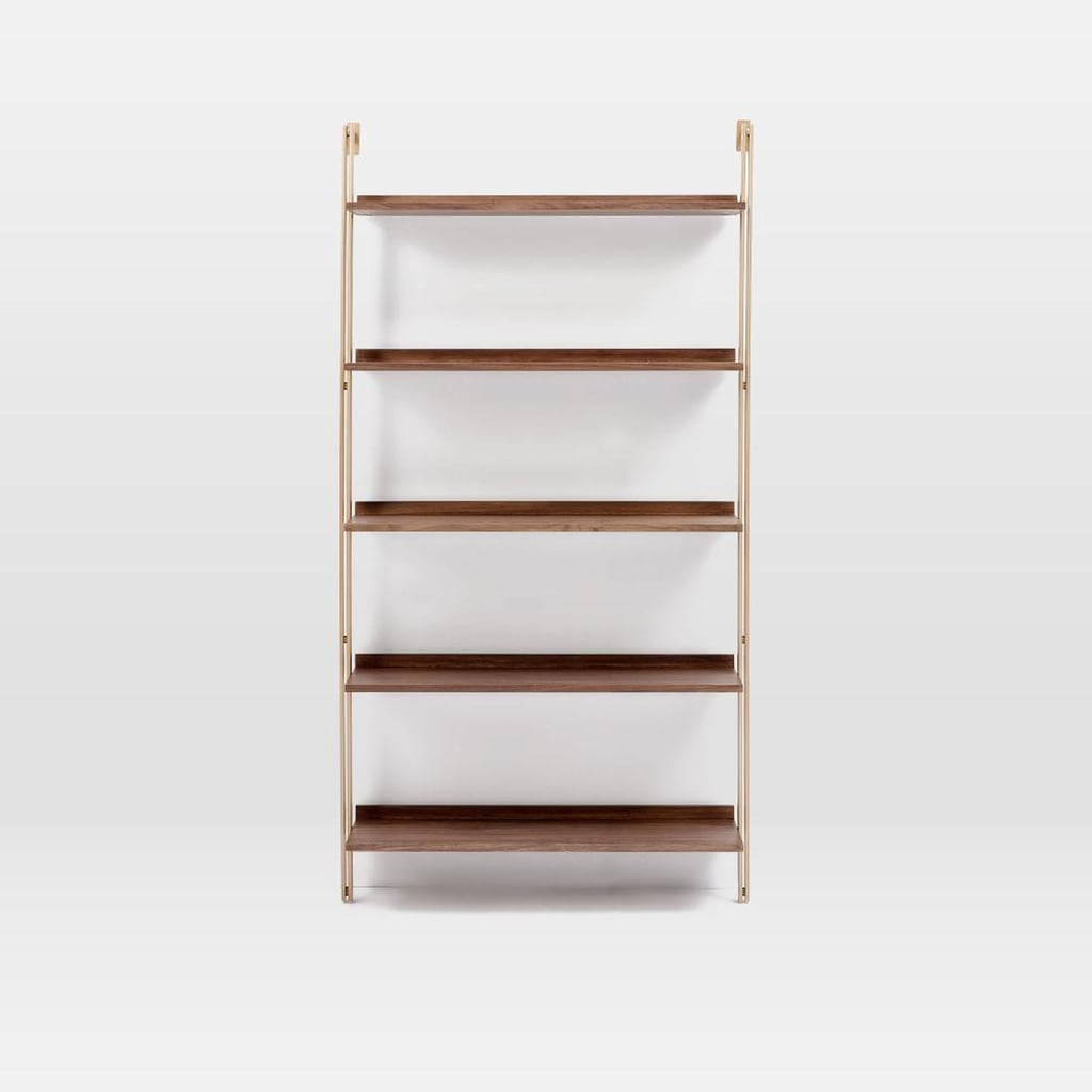 West Elm Linden Mid-Century Wide Shelf Unit, $1,099