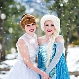 Anna Marries Kristoff in This Snowy Frozen Fantasy Wedding