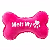"Grreat Choice Valentine's ""Melt My Paw"" Bone Dog Toy ($3)"