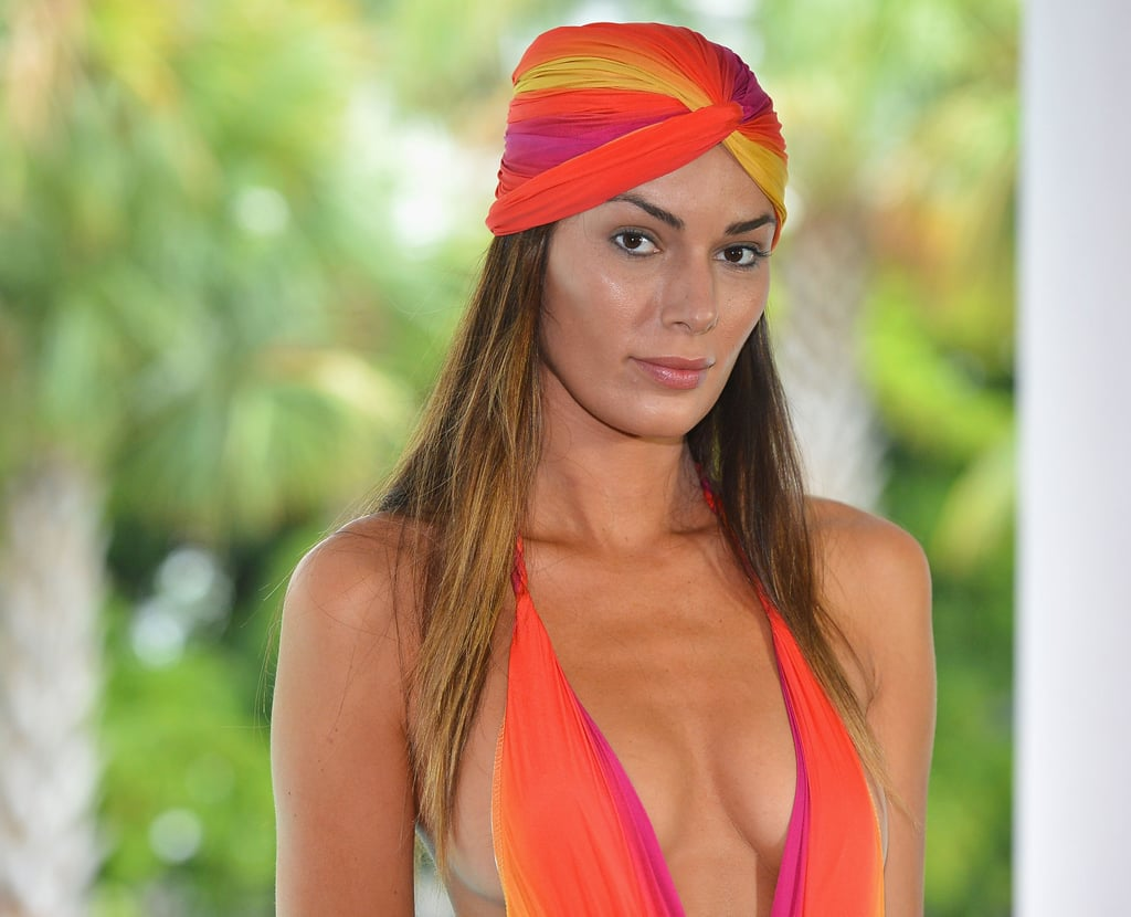 Turbans work twofold: their bright colors are eye-catching and beautiful, and they keep your head cool.