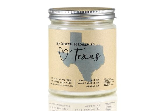 Texas State Candle