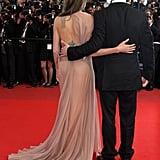 Angelina Jolie und Brad Pitt beim 2009 Cannes Film Festival zur Premiere von Inglourious Basterds.
