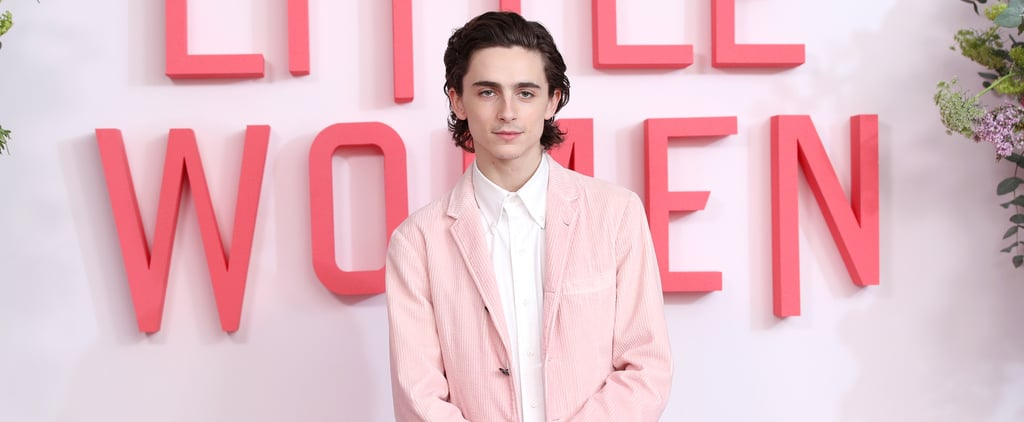 Timothée Chalamet Just Wore Another Pink Suit
