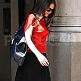 Katie Holmes out in NYC.