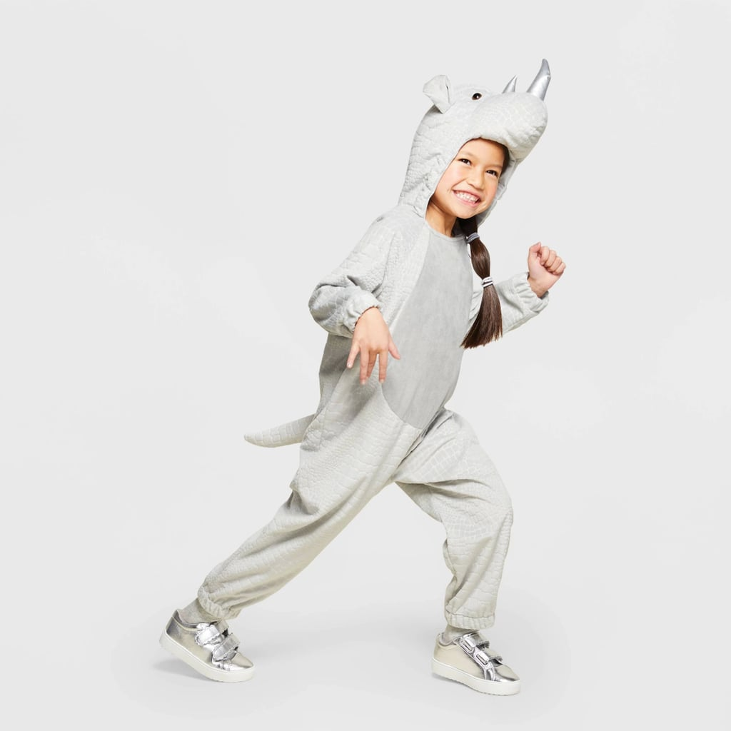 Toddler Plush Rhino Halloween Costume