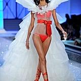 Anais Mali wore a bridal look.