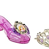 Disney Princess Rapunzel Enchanted Evening Tiara & Shoe Set