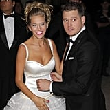 Pics: Michael Bublé and Luisana Lopilato Celebrate Their Wedding With a Second Ceremony!