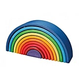 Wooden Rainbow Stacking Tunnel