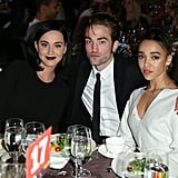 Katy hung out with Rob and FKA Twigs at the 8th Annual GO Campaign Gala in Beverly Hills in 2015.