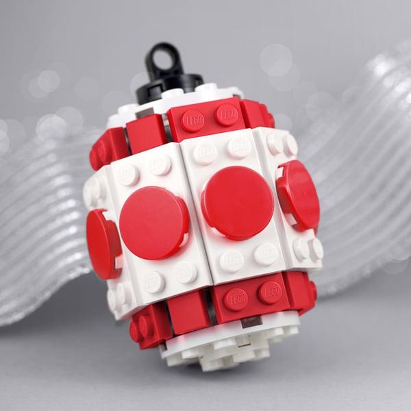 Red Barrel Ornament Building Kit ($11)