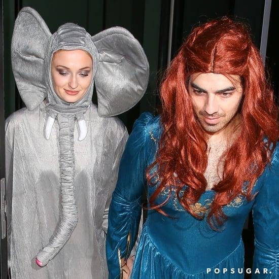 Joe Jonas's Sansa Stark Halloween Costume