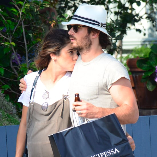 Ian Somerhalder and Nikki Reed Out in LA July 2017