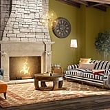 Harry Potter-Inspired Transitional-Style Living Room