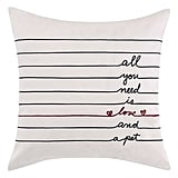 All You Need Is Love Accent Pillow