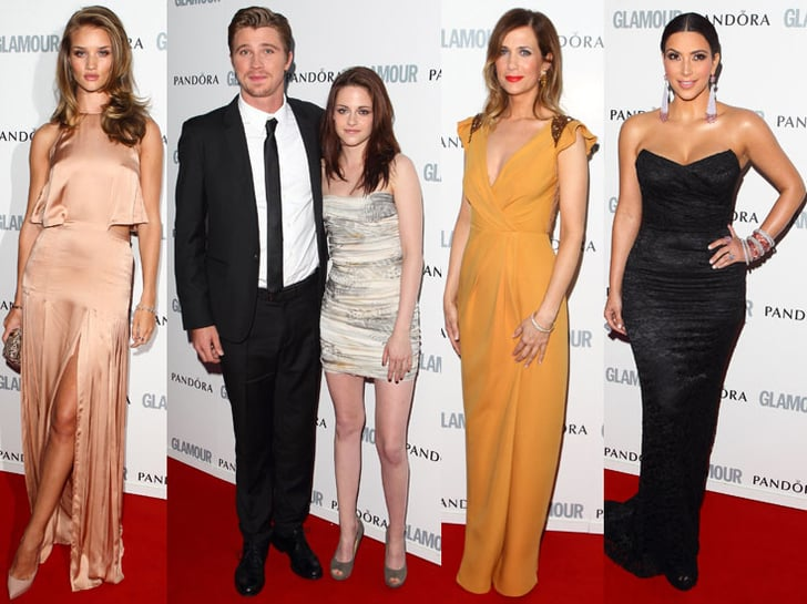 Kristen Adds Glamour to Women of the Year Awards With Kim, Garrett, and More