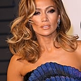 Jennifer Lopez With Caramel Waves
