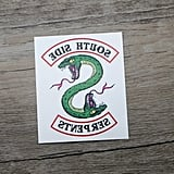 Southside Serpents Temporary Tattoos