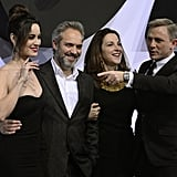 Daniel Craig and Berenice Marlohe in Germany For Skyfall