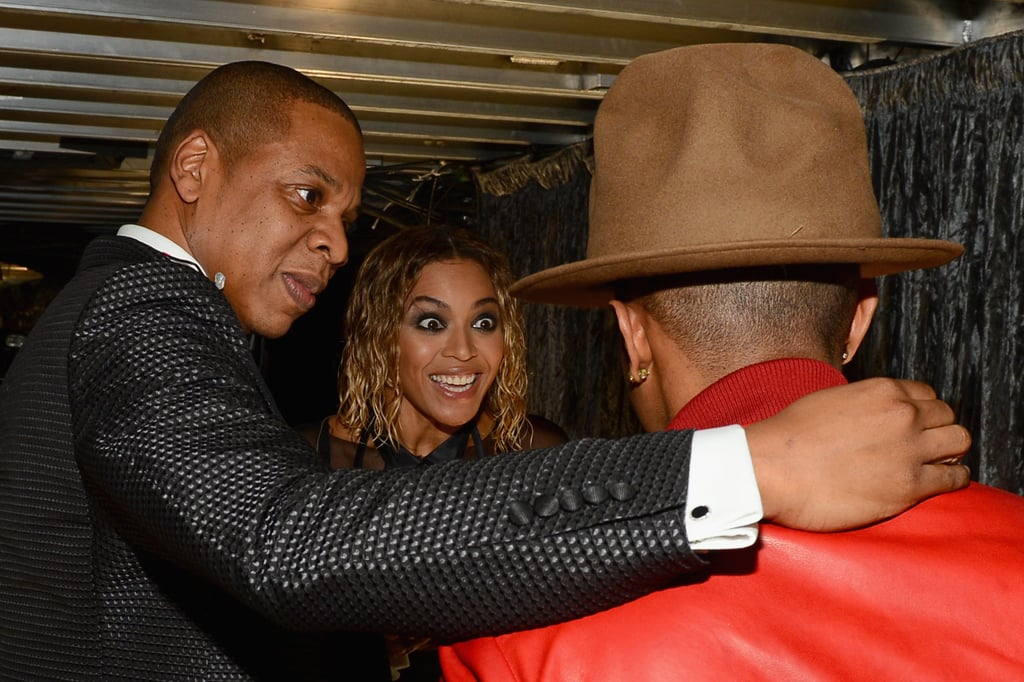 Beyoncé and Jay Z were quick to plan a double date with Pharrell and his hat.