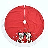 Disney Mickey and Minnie Mouse Festive Tree Skirt