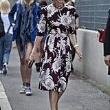 Anna Wintour forever proves the power of a bold print.