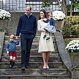William, Kate, George, and Charlotte